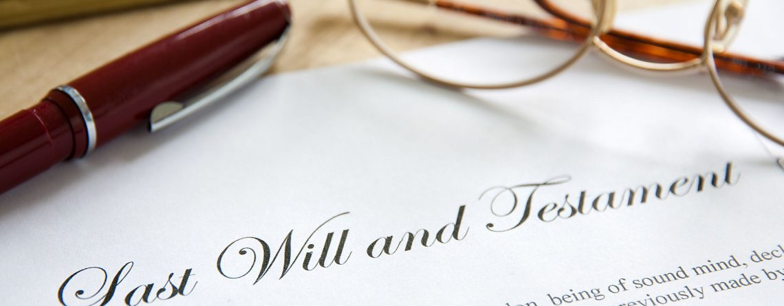 Wills, Probate & Estates
